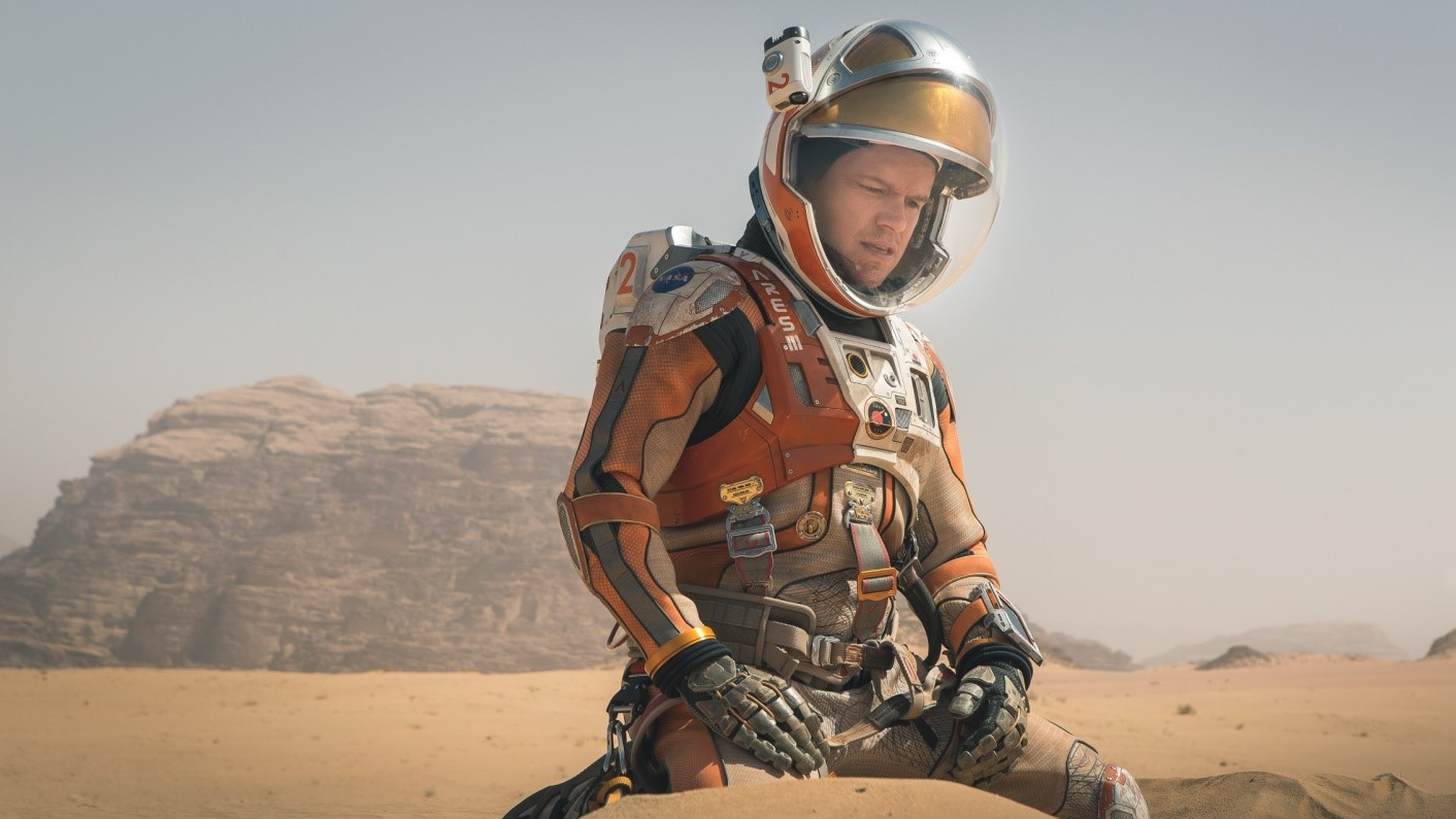 The Martian: focusing on the process, not the outcome