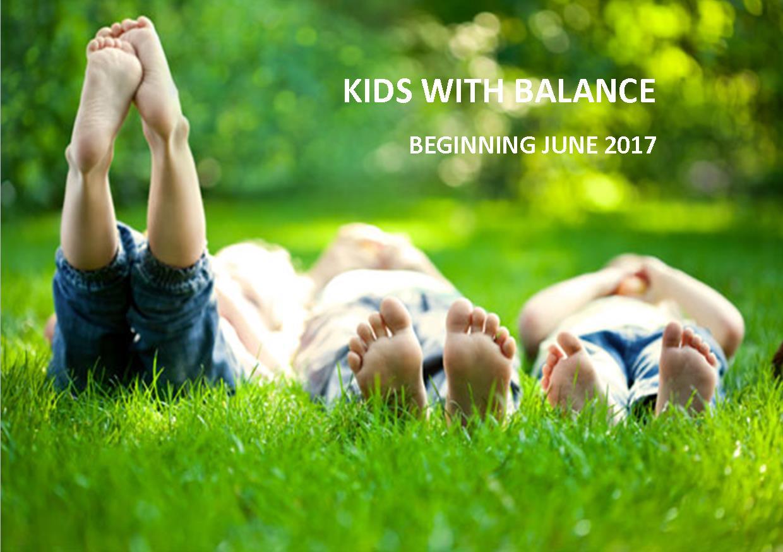 Kids With Balance